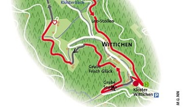 Bild von Karte Geologischer Lehrpfad Wittichen
