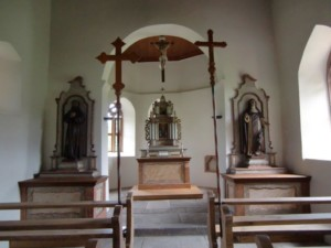 Bild von Innenansicht Roßbergkapelle