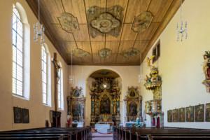 Bild von Innenansicht Kirche Wittichen