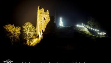 Bild von Schenkenburg mit Weihnachtsbeleuchtung