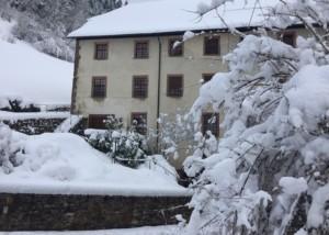Bild von Klosterkirche Wittichen Außenansicht im Winter