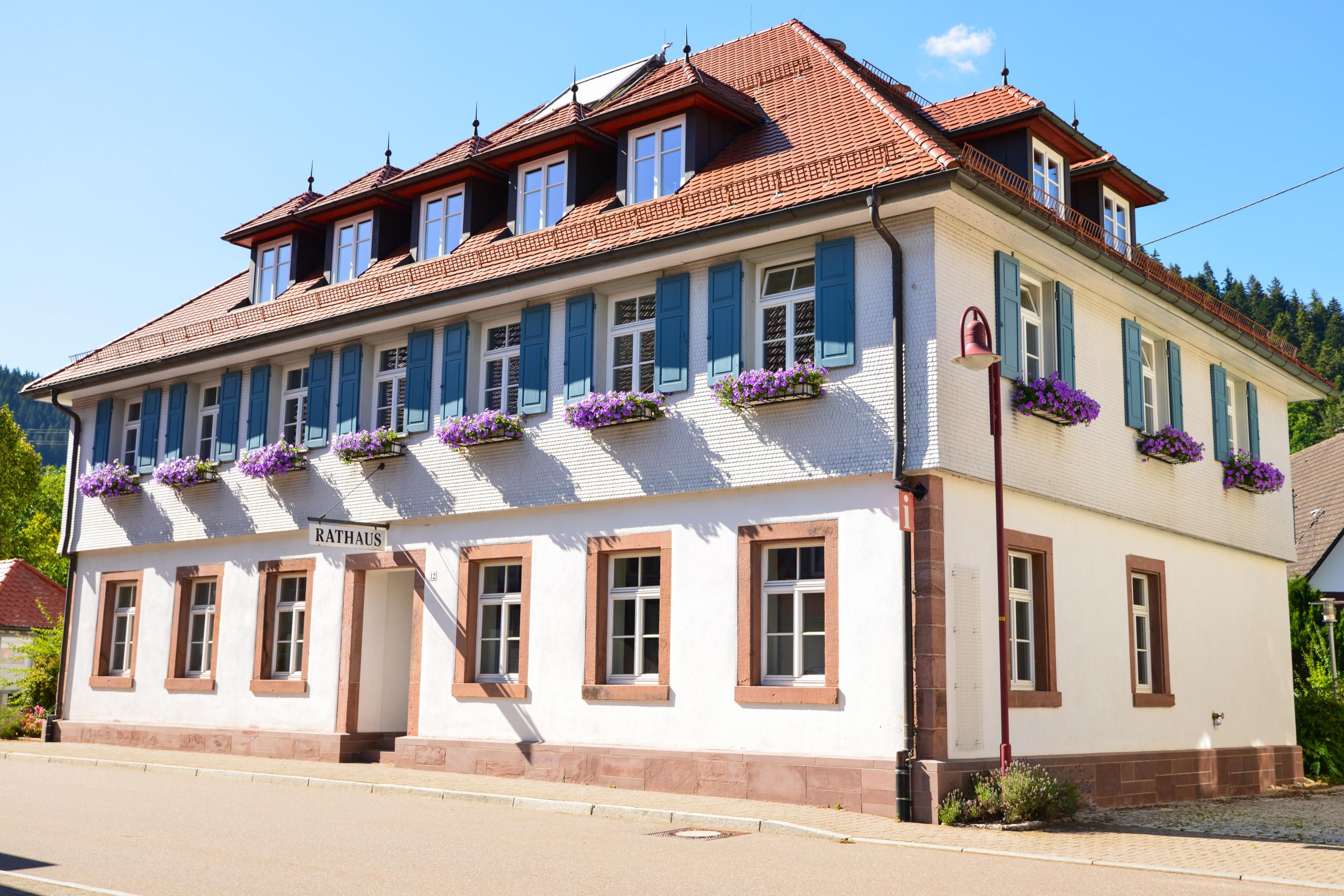 Bild vom Rathaus Schenkenzell