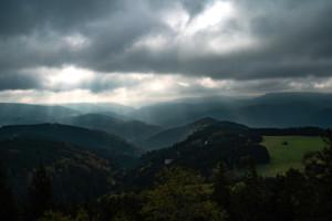 Bild vom Ausblick vom Teisenkopfturm