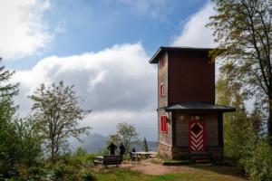 Bild vom Teisnkopfturm in Schenkenzell