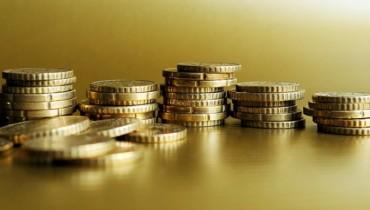 Bild von Geldmünzen