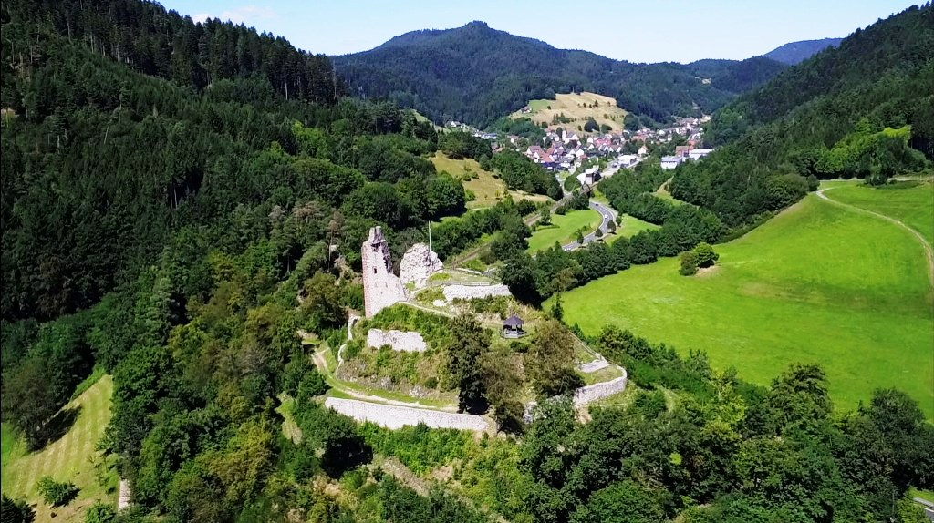 Bild von Schenkenburg aufgenommen mit Drohne