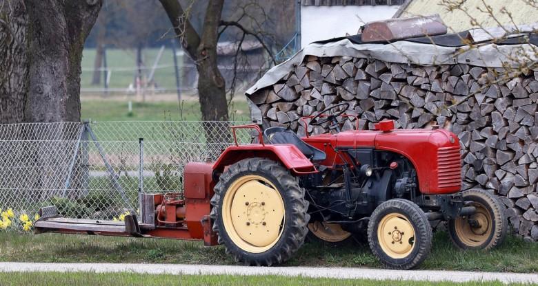 Bild von Traktor