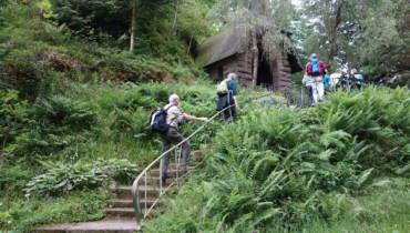 Bild von Treppenaufstieg zur Burgfelsenkapelle