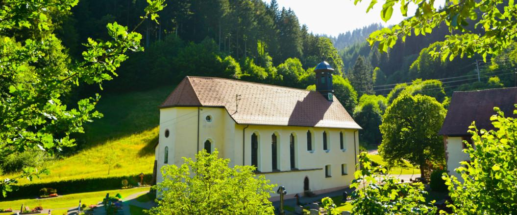 Bild von der Klosterkirche Wittichen