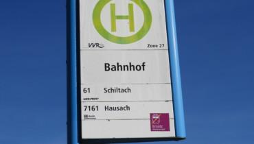 Bild von Haltestellenschild Bus